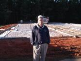 Pastor Easter and new gym construction